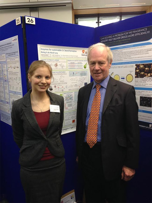 Joanna Sadler with Peter Lilley MP