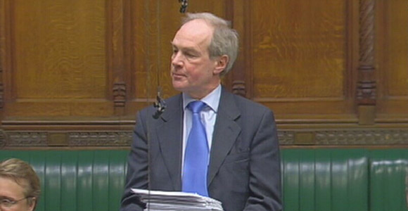 Peter Lilley MP Speaking in Parliament